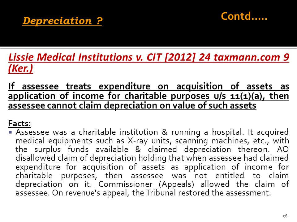 Lissie Medical Institutions v. CIT [2012] 24 taxmann.com 9 (Ker.)
